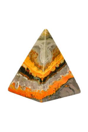 Bumblebee Jaspis piramide 6.3 cm 148 gram