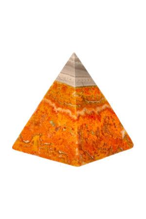 Bumblebee Jaspis piramide 6.2 cm 164 gram