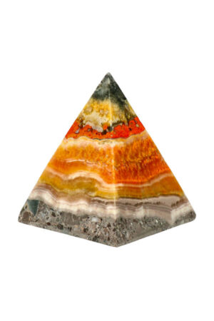Bumblebee Jaspis piramide 6.1 cm 155 gram