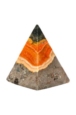 Bumblebee Jaspis piramide 6.6 cm 155 gram