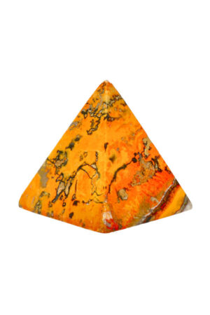 Bumblebee Jaspis piramide 5.6 cm 141 gram