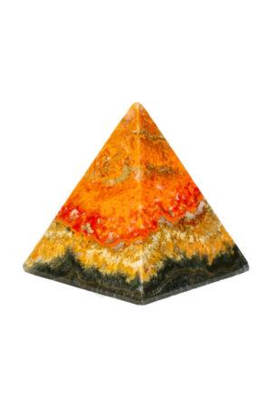 Bumblebee Jaspis piramide 5.9 cm 160 gram
