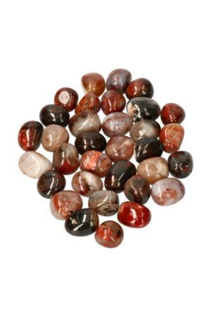 Lodoliet trommelstenen per steen of zakken van 100 gram tot 1 kilo