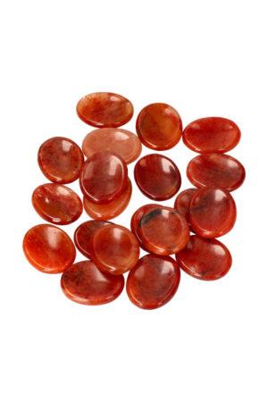 Red Healer duimstenen 4 cm