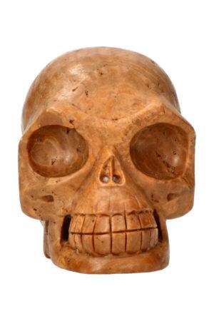 Calciet realistische kristallen schedel 13.3 cm 1.5 kg