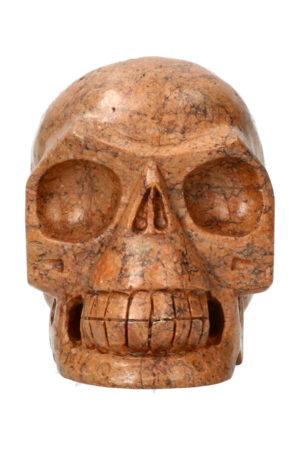 Dendriet realistische kristallen schedel 11.1 cm 864 gram