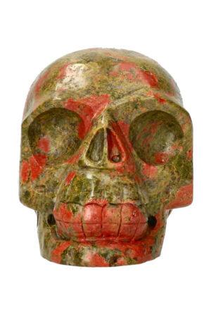 Unakiet realistische kristallen schedel 10.6 cm 912 gram